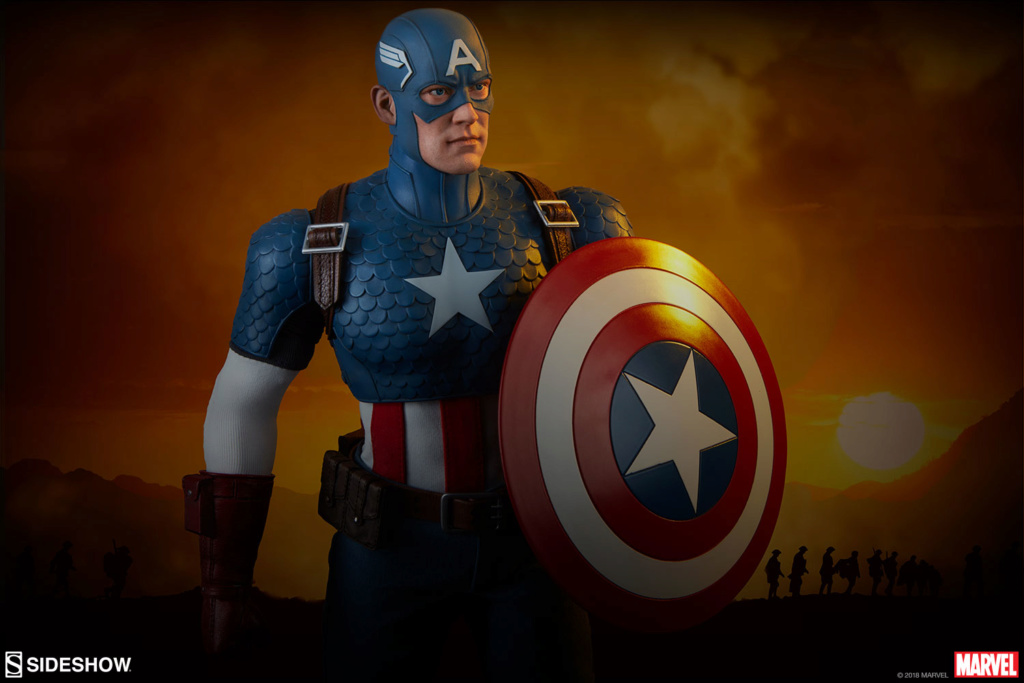 captainamerica - NEW PRODUCT: SIDESHOW COLLECTIBLES: CAPTAIN AMERICA 1/6 SCALE FIGURE 2129