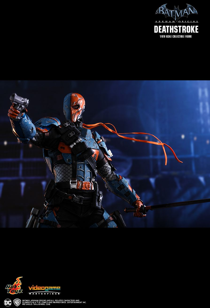 Batman - NEW PRODUCT: HOT TOYS: BATMAN: ARKHAM ORIGINS DEATHSTROKE 1/6TH SCALE COLLECTIBLE FIGURE 2215