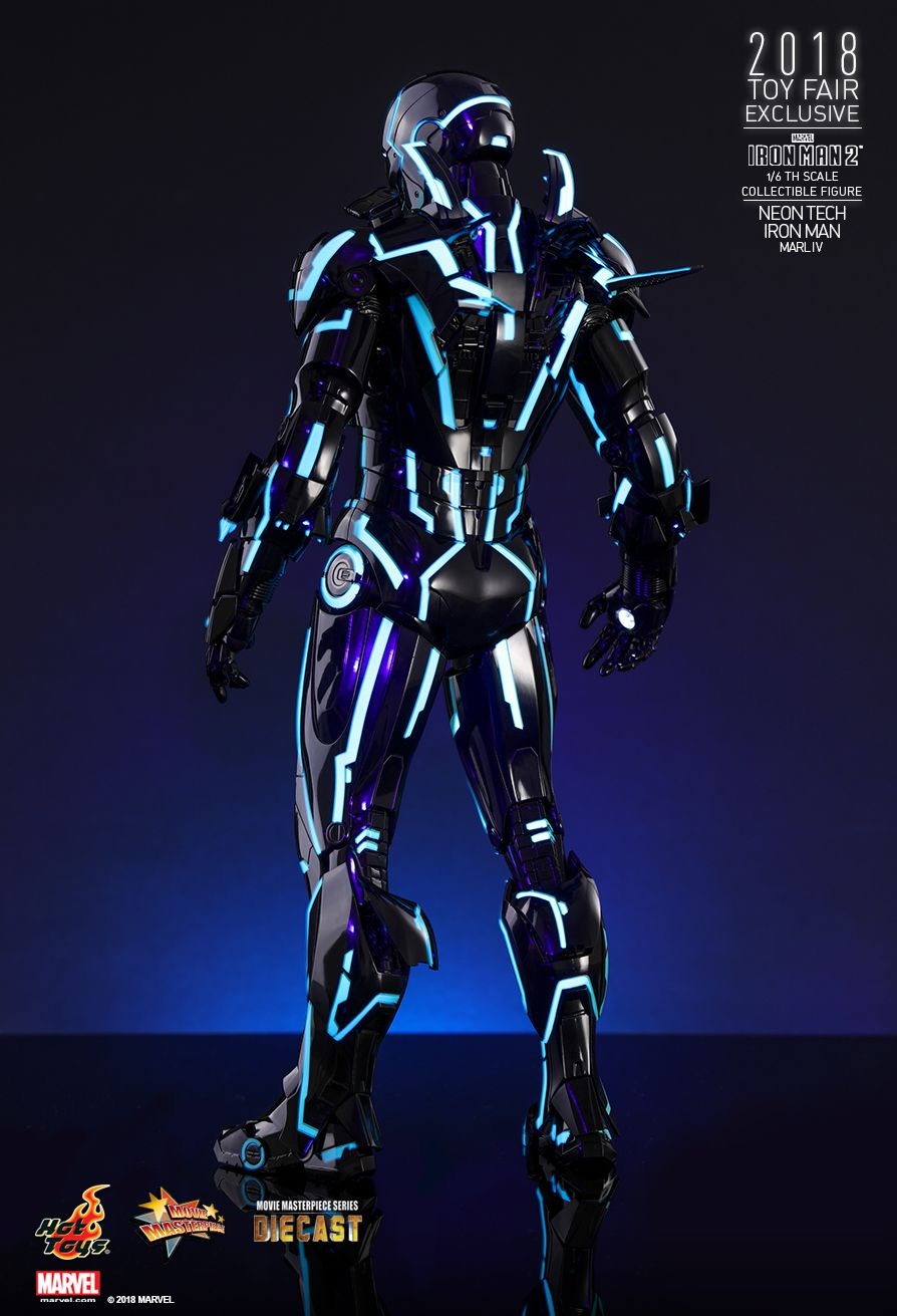 IronMan - NEW PRODUCT: IRON MAN 2 NEON TECH IRON MAN MARK IV 1/6TH SCALE COLLECTIBLE FIGURE 229