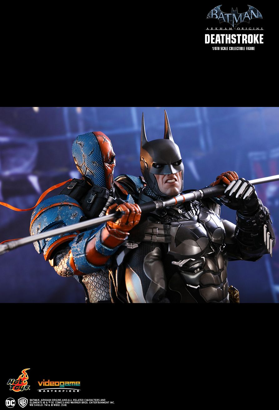 Batman - NEW PRODUCT: HOT TOYS: BATMAN: ARKHAM ORIGINS DEATHSTROKE 1/6TH SCALE COLLECTIBLE FIGURE 2312