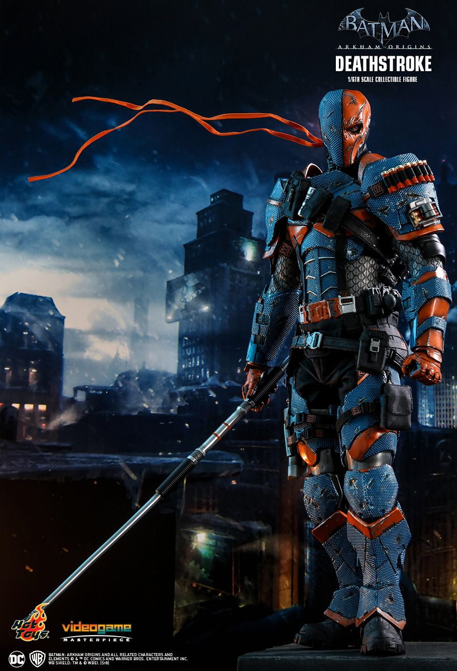 Batman - NEW PRODUCT: HOT TOYS: BATMAN: ARKHAM ORIGINS DEATHSTROKE 1/6TH SCALE COLLECTIBLE FIGURE 232