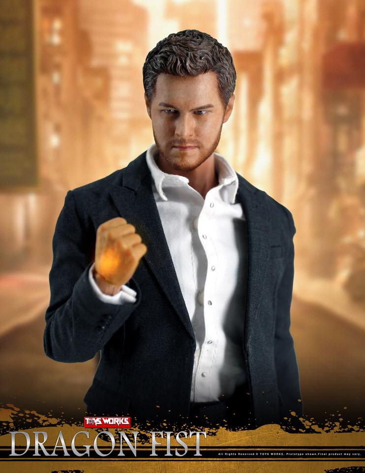 TVShow - NEW PRODUCT: TOYS WORKS TW006 DRAGON FIST - Iron Fist (full details pending) 234