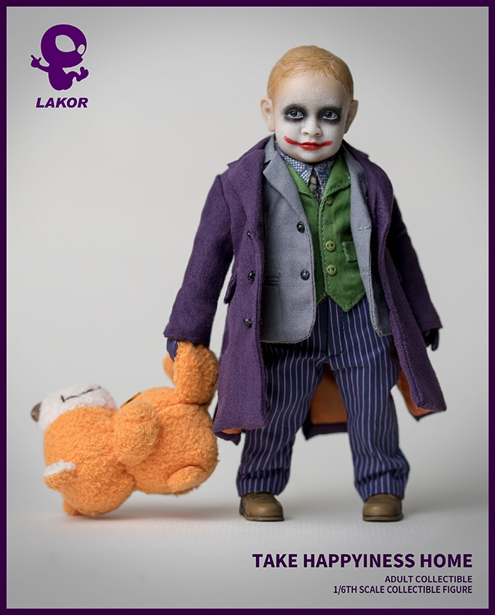 Joker - NEW PRODUCT: Lakor Baby: 1 / 6th scale Take Happiness Home - JOKER Baby 2.0 Collectible Figure 237