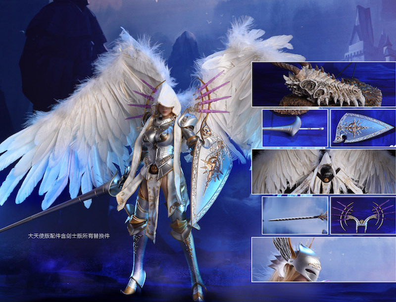NEW PRODUCT: Lucifer Wings of Dawn Swordsman Version [LXF-1703S] & Big Angels Version [LXF-1703B] 1:6 Figure 2414