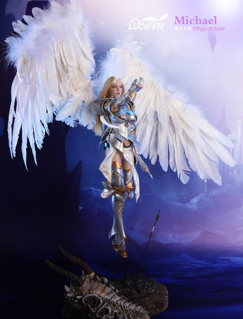 NEW PRODUCT: Lucifer Wings of Dawn Swordsman Version [LXF-1703S] & Big Angels Version [LXF-1703B] 1:6 Figure 249