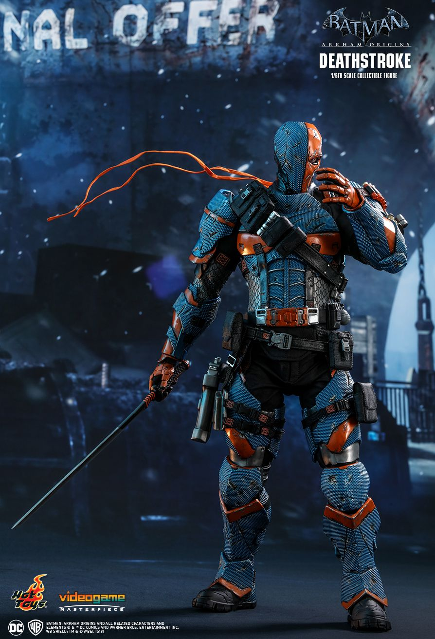 Batman - NEW PRODUCT: HOT TOYS: BATMAN: ARKHAM ORIGINS DEATHSTROKE 1/6TH SCALE COLLECTIBLE FIGURE 331