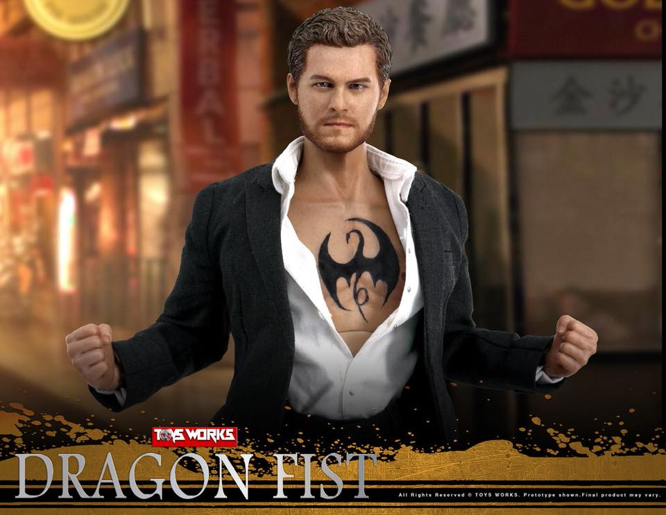 TVShow - NEW PRODUCT: TOYS WORKS TW006 DRAGON FIST - Iron Fist (full details pending) 332