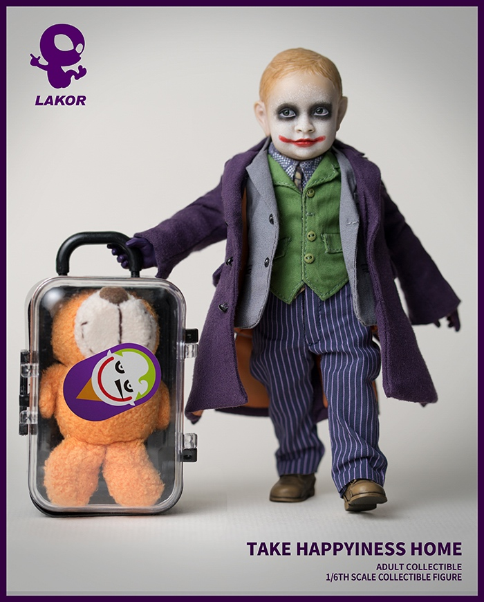Joker - NEW PRODUCT: Lakor Baby: 1 / 6th scale Take Happiness Home - JOKER Baby 2.0 Collectible Figure 335