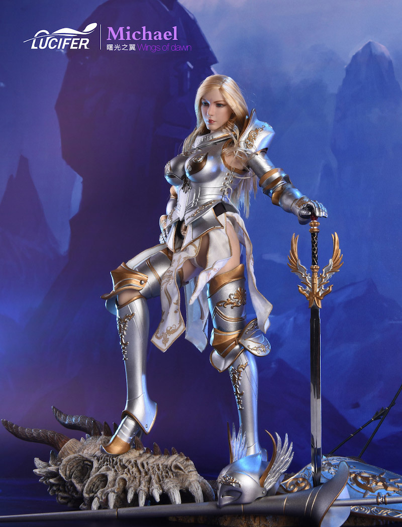 NEW PRODUCT: Lucifer Wings of Dawn Swordsman Version [LXF-1703S] & Big Angels Version [LXF-1703B] 1:6 Figure 346