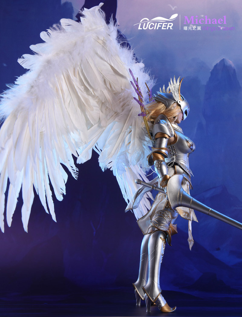 NEW PRODUCT: Lucifer Wings of Dawn Swordsman Version [LXF-1703S] & Big Angels Version [LXF-1703B] 1:6 Figure 347