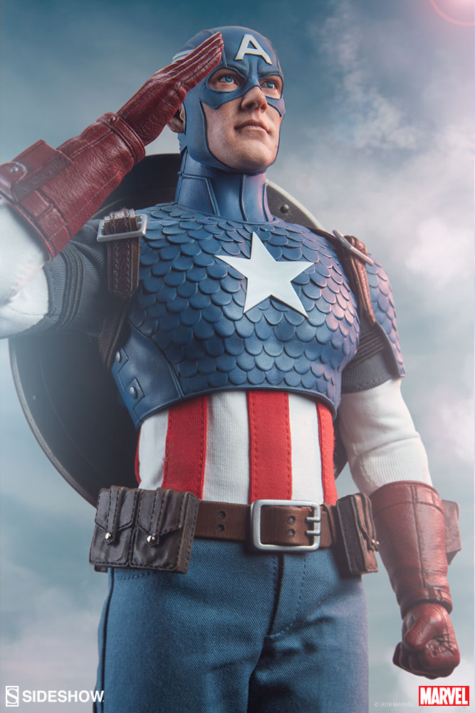 captainamerica - NEW PRODUCT: SIDESHOW COLLECTIBLES: CAPTAIN AMERICA 1/6 SCALE FIGURE 386