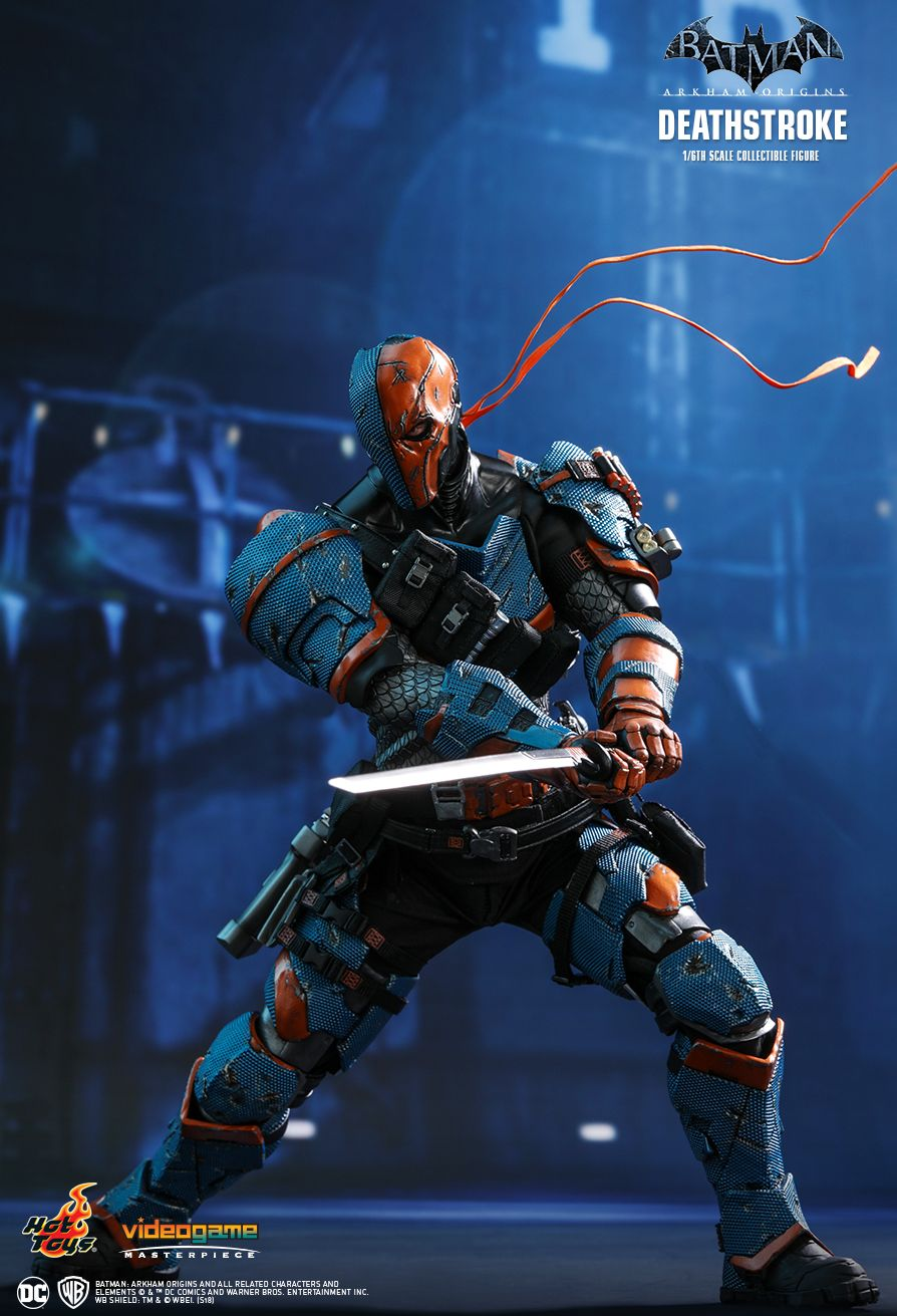 Batman - NEW PRODUCT: HOT TOYS: BATMAN: ARKHAM ORIGINS DEATHSTROKE 1/6TH SCALE COLLECTIBLE FIGURE 430
