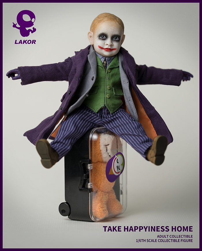 Joker - NEW PRODUCT: Lakor Baby: 1 / 6th scale Take Happiness Home - JOKER Baby 2.0 Collectible Figure 434