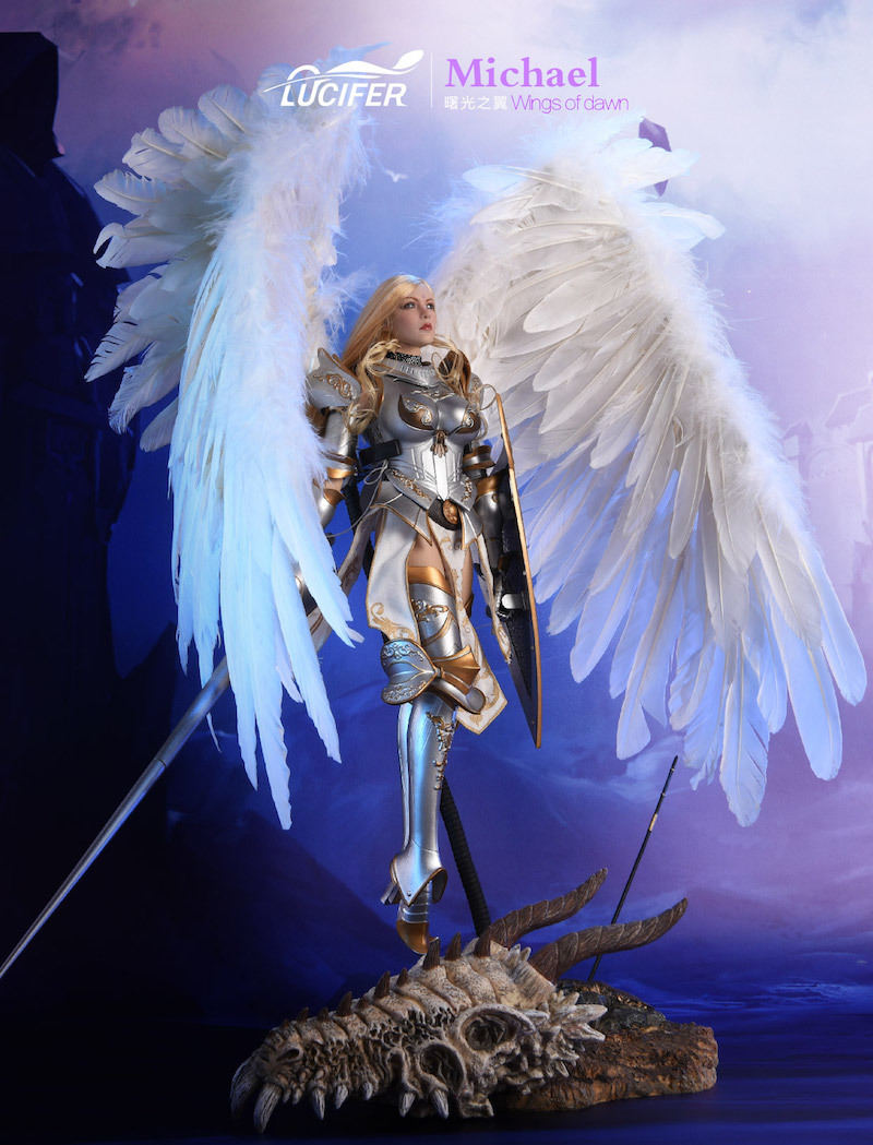 NEW PRODUCT: Lucifer Wings of Dawn Swordsman Version [LXF-1703S] & Big Angels Version [LXF-1703B] 1:6 Figure 446
