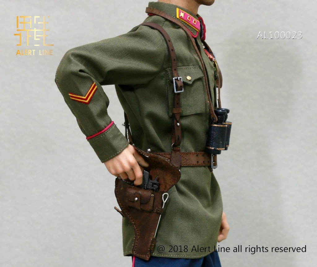 Soviet - NEW PRODUCT: Alert Line boundary play mode: 1/6 World War II 1942 - Soviet Red Army infantry lieutenant officer set (AL100023#) 5106
