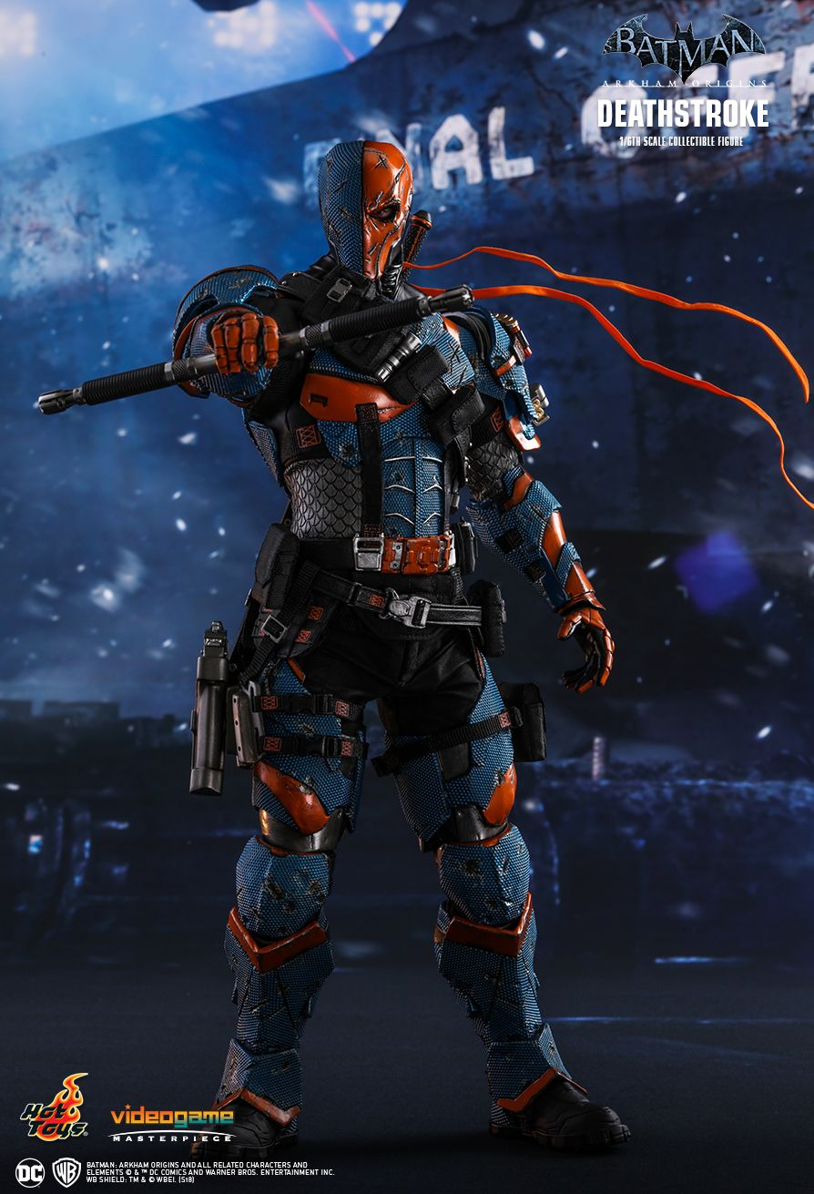 Batman - NEW PRODUCT: HOT TOYS: BATMAN: ARKHAM ORIGINS DEATHSTROKE 1/6TH SCALE COLLECTIBLE FIGURE 530