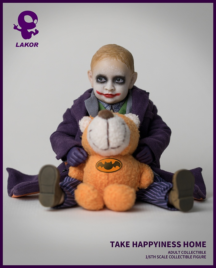 Joker - NEW PRODUCT: Lakor Baby: 1 / 6th scale Take Happiness Home - JOKER Baby 2.0 Collectible Figure 534