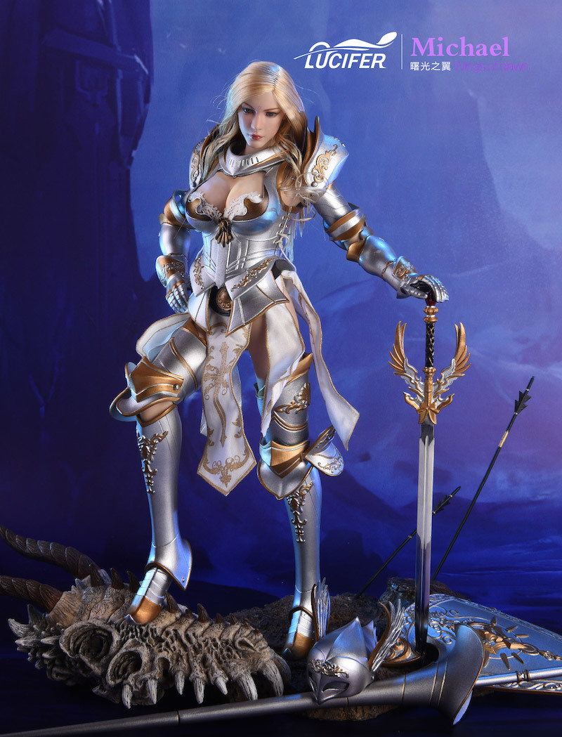 NEW PRODUCT: Lucifer Wings of Dawn Swordsman Version [LXF-1703S] & Big Angels Version [LXF-1703B] 1:6 Figure 545