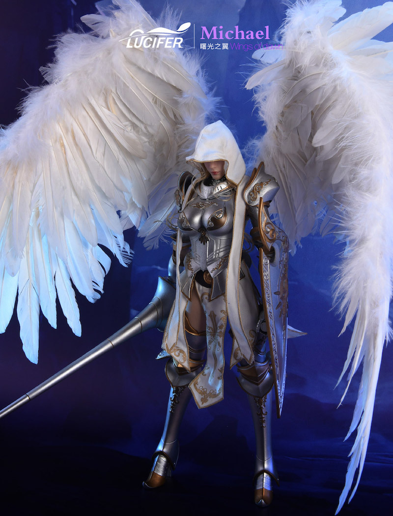NEW PRODUCT: Lucifer Wings of Dawn Swordsman Version [LXF-1703S] & Big Angels Version [LXF-1703B] 1:6 Figure 546
