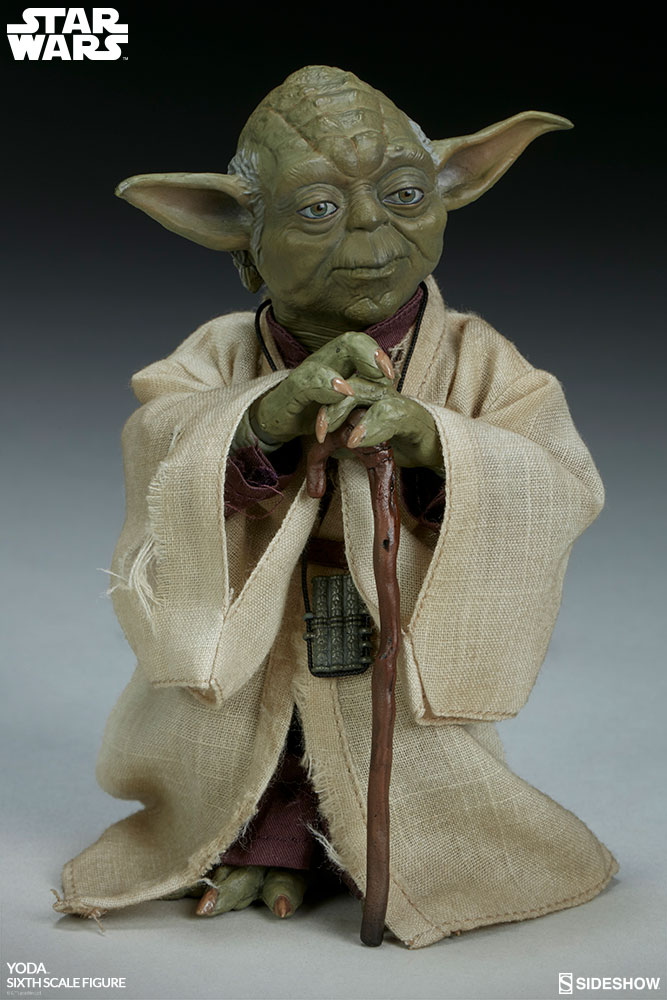 esb - NEW PRODUCT: SIDESHOW COLLECTIBLES: THE EMPIRE STRIKES BACK YODA 1/6 SCALE FIGURE 596