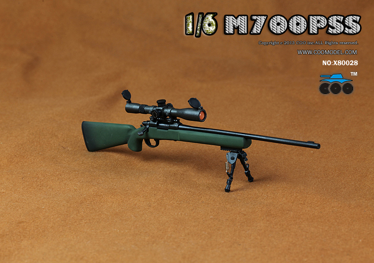 CooModel - NEW PRODUCT:  COOMODEL: 1/6 M700PSS Sniper Rifle X2 & PSG1 Sniper Rifle 6102