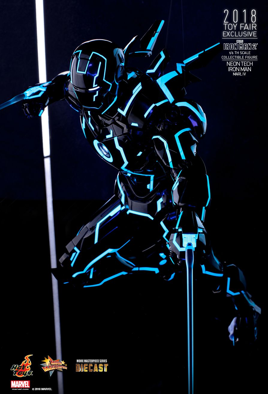 IronMan - NEW PRODUCT: IRON MAN 2 NEON TECH IRON MAN MARK IV 1/6TH SCALE COLLECTIBLE FIGURE 628