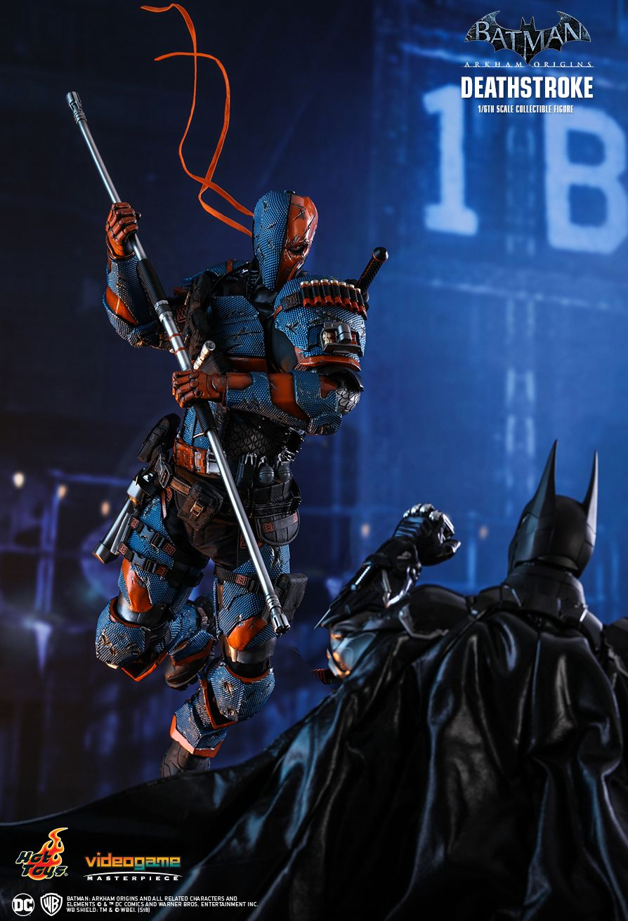 Batman - NEW PRODUCT: HOT TOYS: BATMAN: ARKHAM ORIGINS DEATHSTROKE 1/6TH SCALE COLLECTIBLE FIGURE 630