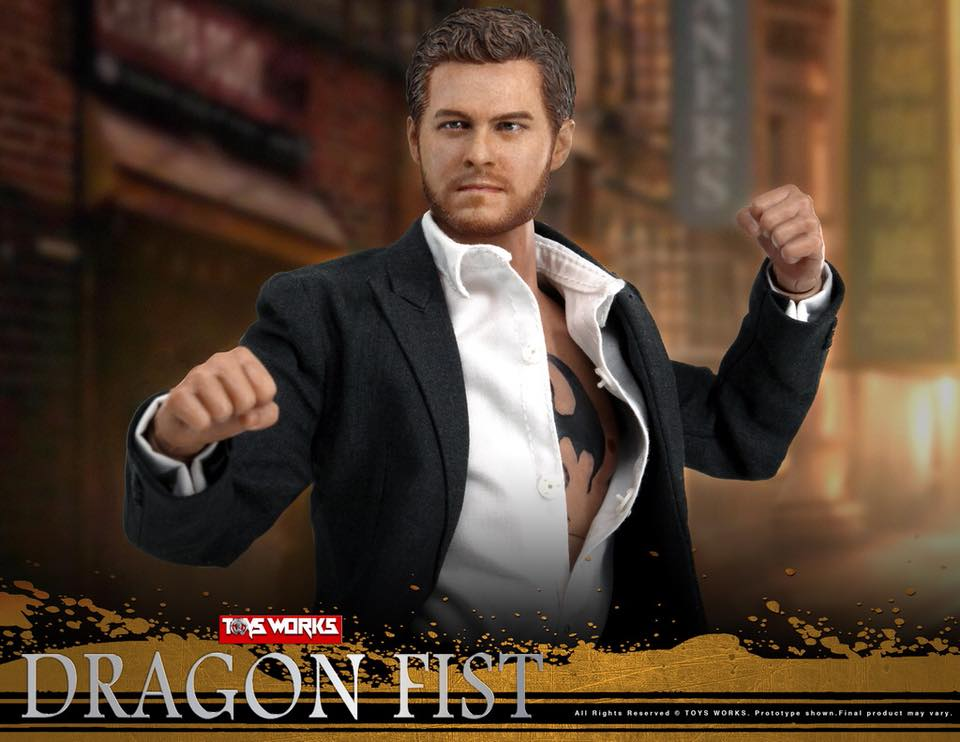 TVShow - NEW PRODUCT: TOYS WORKS TW006 DRAGON FIST - Iron Fist (full details pending) 631