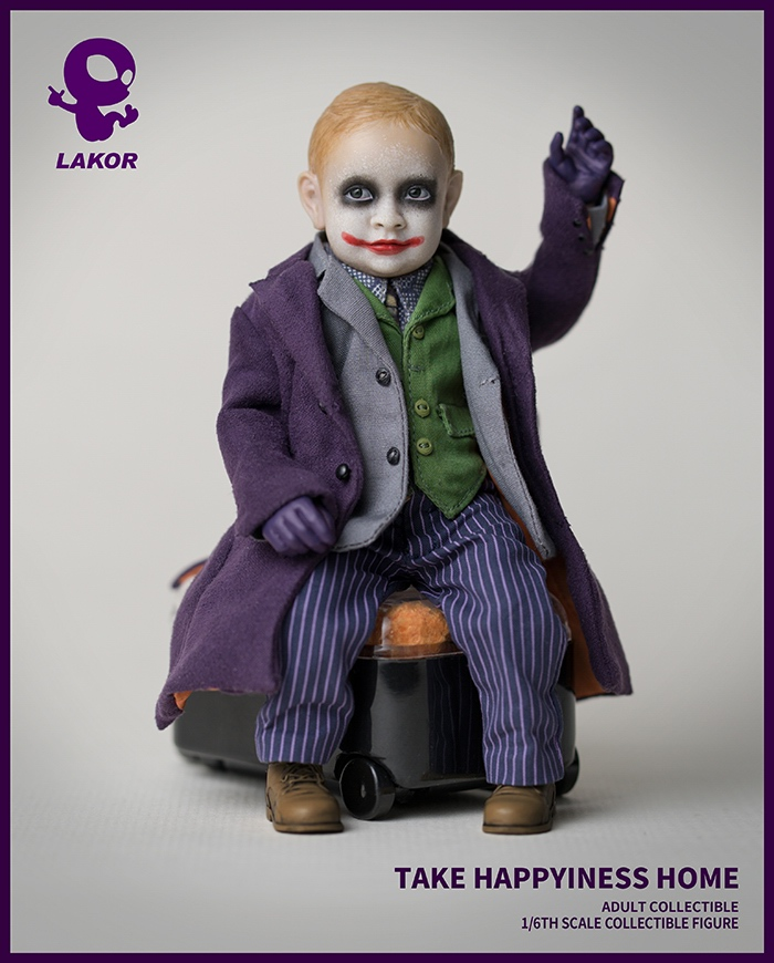 Joker - NEW PRODUCT: Lakor Baby: 1 / 6th scale Take Happiness Home - JOKER Baby 2.0 Collectible Figure 634