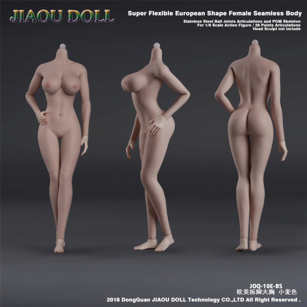body - NEW PRODUCT: JIAOU DOLL 1/6 European Shape Female Nude Body Action Figure (possibly NSFW) 636