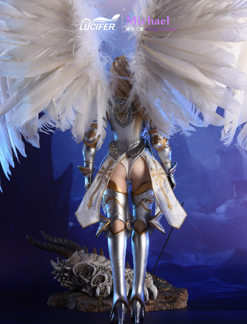 NEW PRODUCT: Lucifer Wings of Dawn Swordsman Version [LXF-1703S] & Big Angels Version [LXF-1703B] 1:6 Figure 646