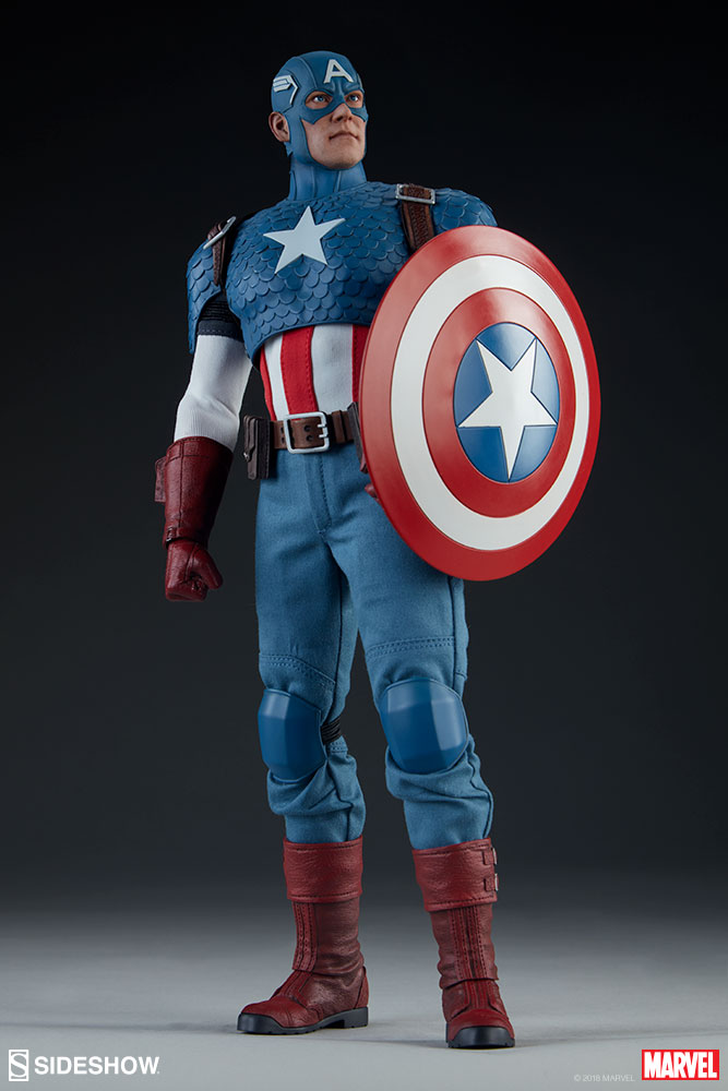 captainamerica - NEW PRODUCT: SIDESHOW COLLECTIBLES: CAPTAIN AMERICA 1/6 SCALE FIGURE 667