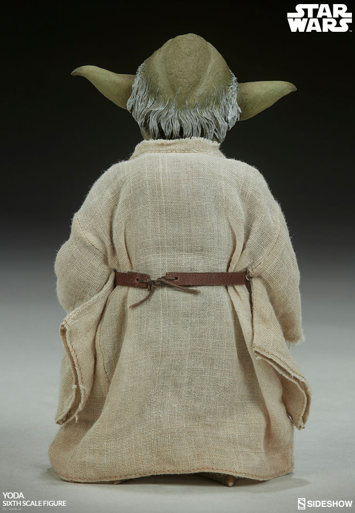 esb - NEW PRODUCT: SIDESHOW COLLECTIBLES: THE EMPIRE STRIKES BACK YODA 1/6 SCALE FIGURE 690