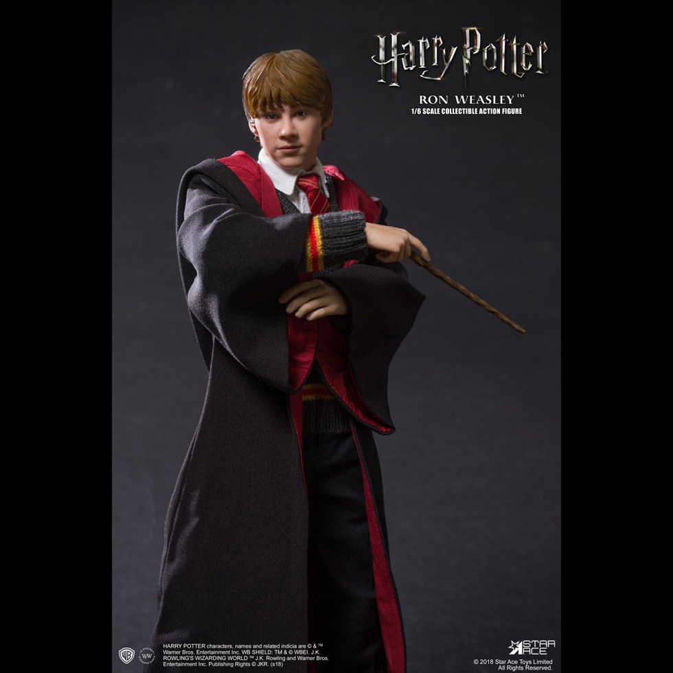 harrypotter - NEW PRODUCT: Star Ace 1/6 Harry Potter Ron Weasley Teenage Version Figure (SA-0059) 697