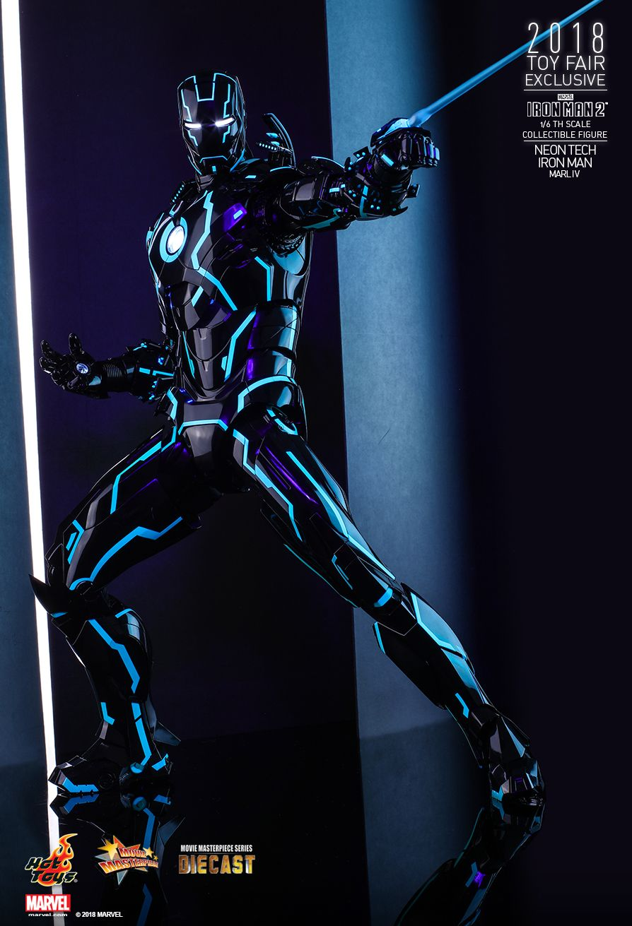 IronMan - NEW PRODUCT: IRON MAN 2 NEON TECH IRON MAN MARK IV 1/6TH SCALE COLLECTIBLE FIGURE 728