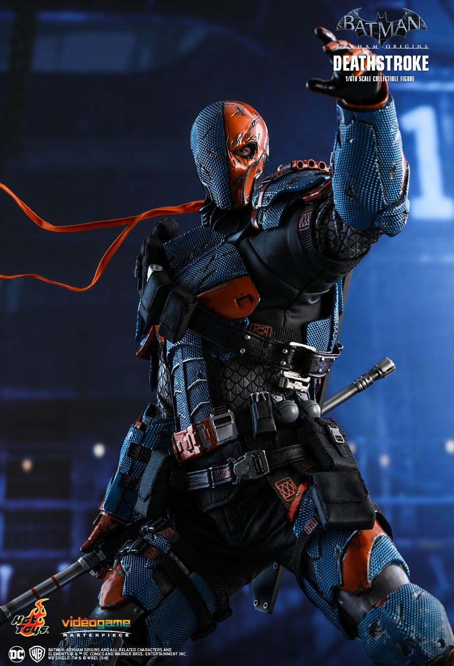 Batman - NEW PRODUCT: HOT TOYS: BATMAN: ARKHAM ORIGINS DEATHSTROKE 1/6TH SCALE COLLECTIBLE FIGURE 730
