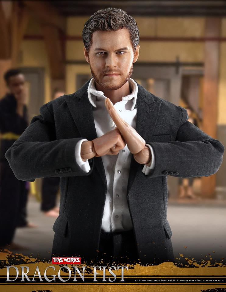 TVShow - NEW PRODUCT: TOYS WORKS TW006 DRAGON FIST - Iron Fist (full details pending) 731