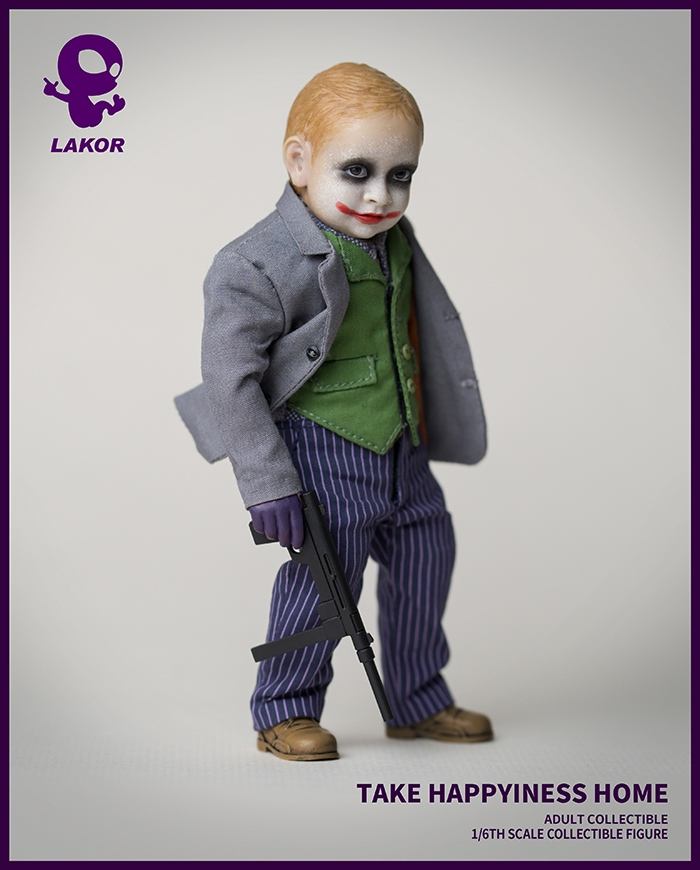 Joker - NEW PRODUCT: Lakor Baby: 1 / 6th scale Take Happiness Home - JOKER Baby 2.0 Collectible Figure 734