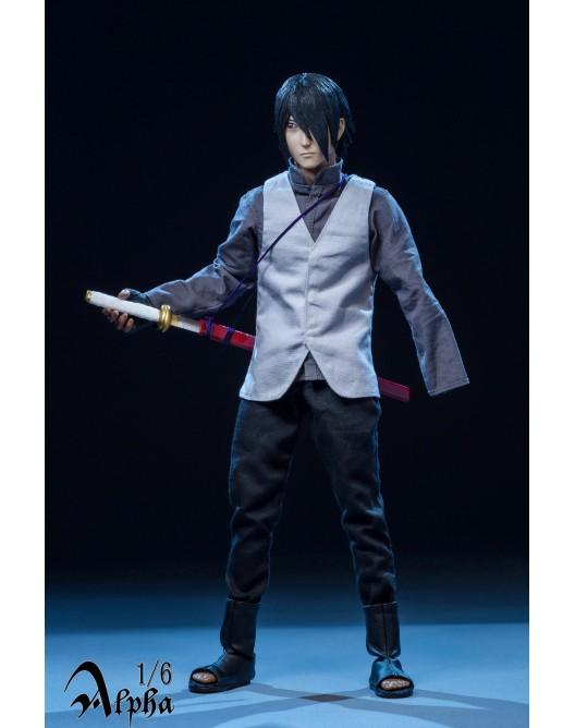 NEW PRODUCT: Alpha 1/6 Scale Sasuke action figure 735