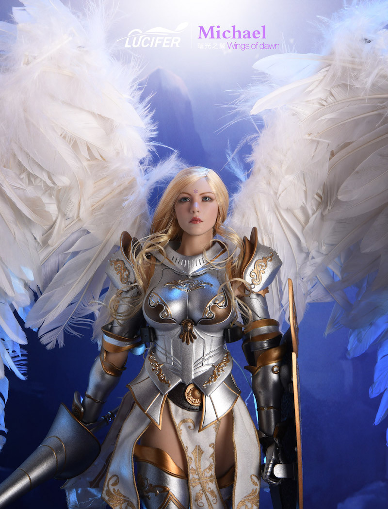 NEW PRODUCT: Lucifer Wings of Dawn Swordsman Version [LXF-1703S] & Big Angels Version [LXF-1703B] 1:6 Figure 747