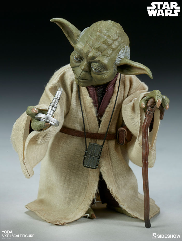 esb - NEW PRODUCT: SIDESHOW COLLECTIBLES: THE EMPIRE STRIKES BACK YODA 1/6 SCALE FIGURE 788