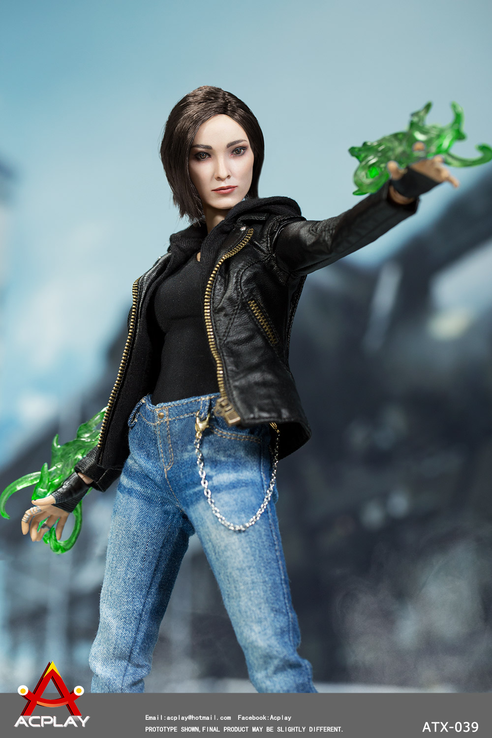 NEW PRODUCT: ACPlay new product: 1/6 ATX039 super hero magnetic girl box doll 8100