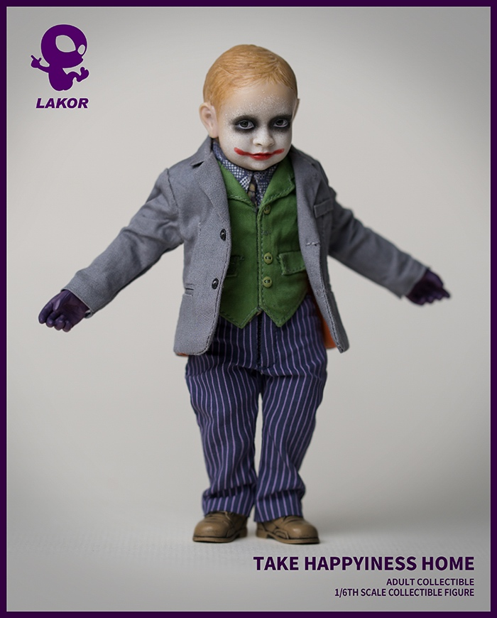 Joker - NEW PRODUCT: Lakor Baby: 1 / 6th scale Take Happiness Home - JOKER Baby 2.0 Collectible Figure 833