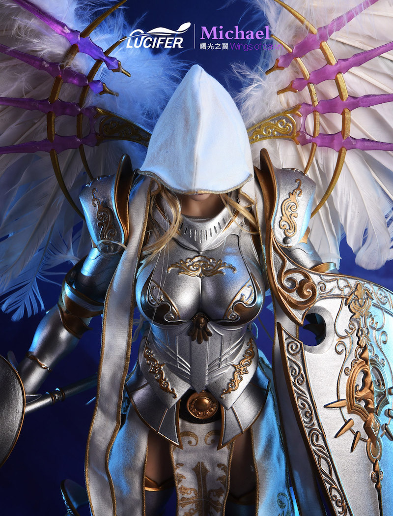 NEW PRODUCT: Lucifer Wings of Dawn Swordsman Version [LXF-1703S] & Big Angels Version [LXF-1703B] 1:6 Figure 846