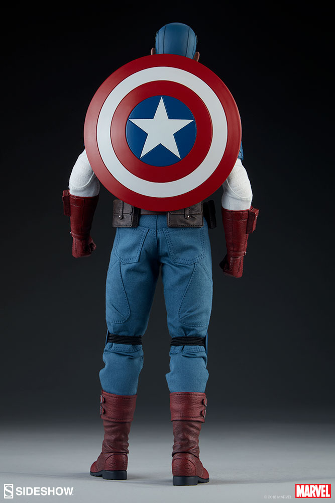 captainamerica - NEW PRODUCT: SIDESHOW COLLECTIBLES: CAPTAIN AMERICA 1/6 SCALE FIGURE 864