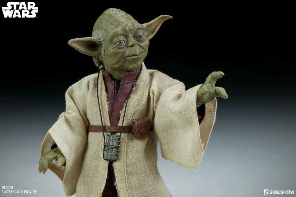 esb - NEW PRODUCT: SIDESHOW COLLECTIBLES: THE EMPIRE STRIKES BACK YODA 1/6 SCALE FIGURE 885