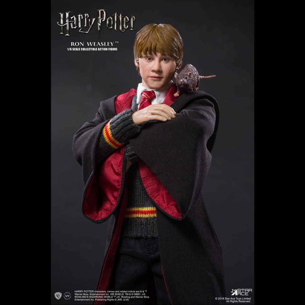 harrypotter - NEW PRODUCT: Star Ace 1/6 Harry Potter Ron Weasley Teenage Version Figure (SA-0059) 891