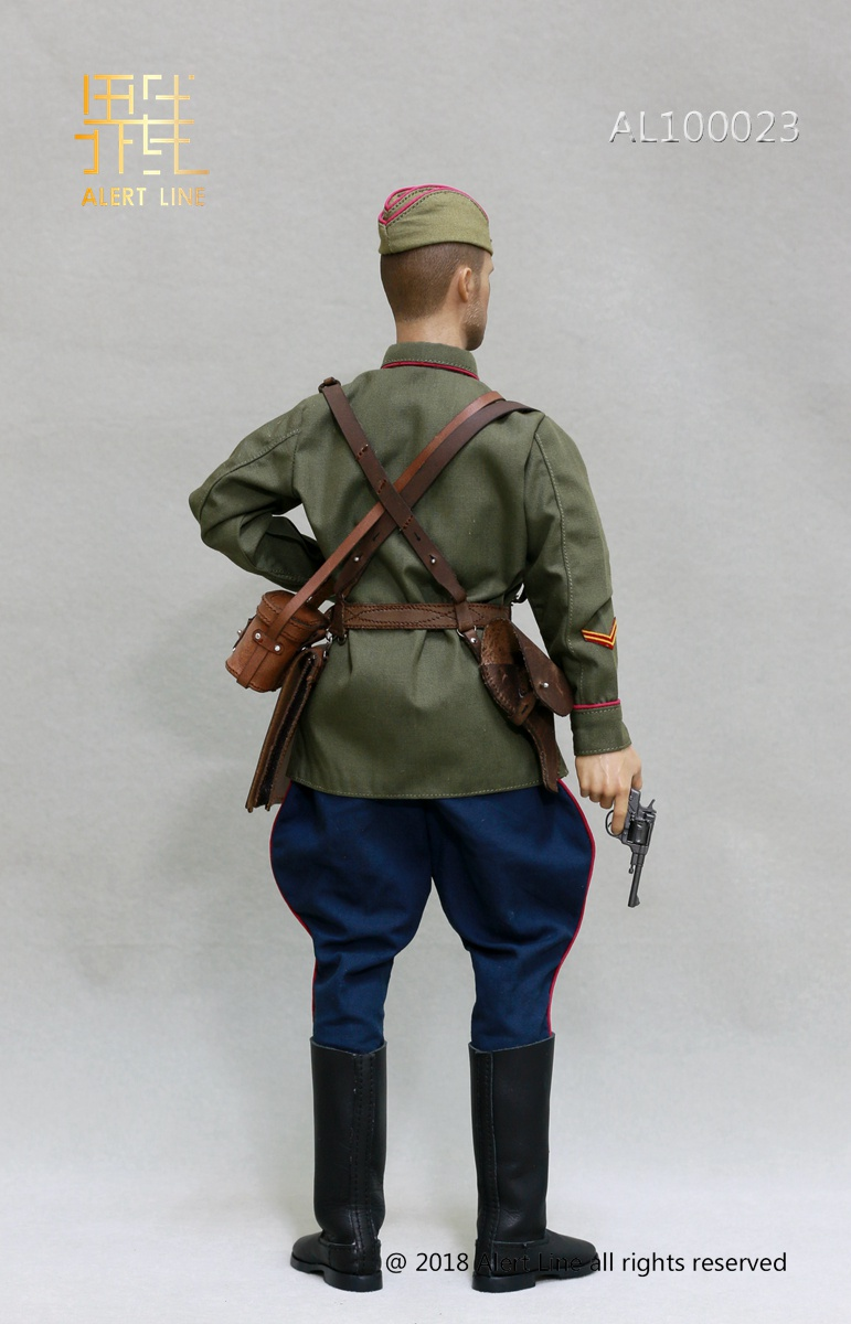 Soviet - NEW PRODUCT: Alert Line boundary play mode: 1/6 World War II 1942 - Soviet Red Army infantry lieutenant officer set (AL100023#) 893