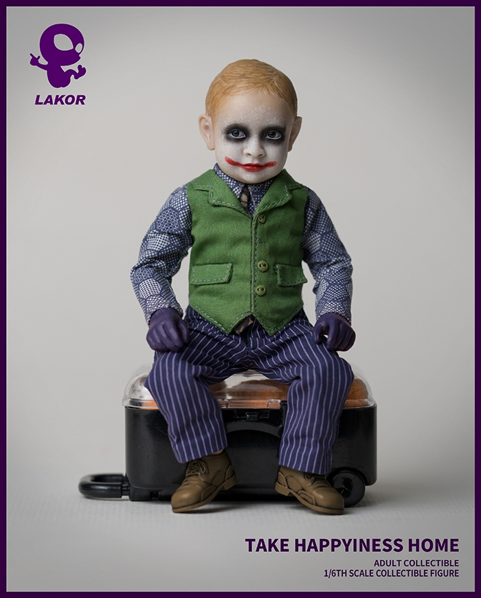 Joker - NEW PRODUCT: Lakor Baby: 1 / 6th scale Take Happiness Home - JOKER Baby 2.0 Collectible Figure 932