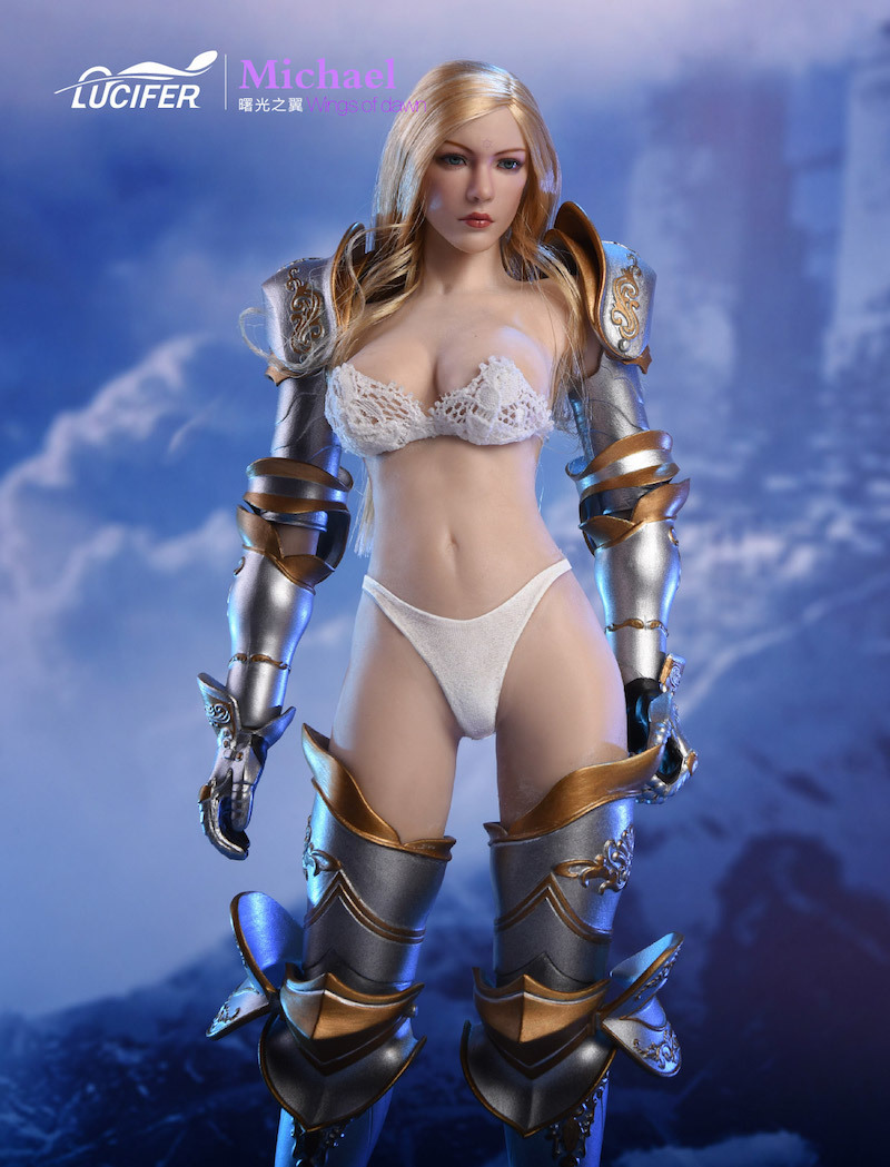 NEW PRODUCT: Lucifer Wings of Dawn Swordsman Version [LXF-1703S] & Big Angels Version [LXF-1703B] 1:6 Figure 944